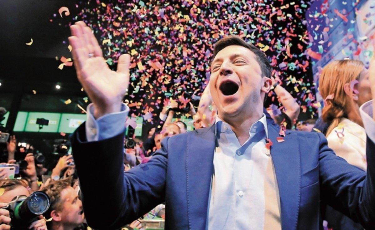 Volodimir Zelenski, ucrania