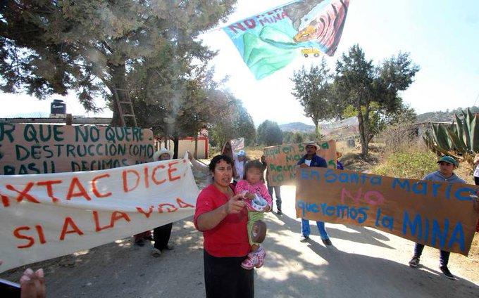 Comunidad nahua gana amparo contra minera canadiense