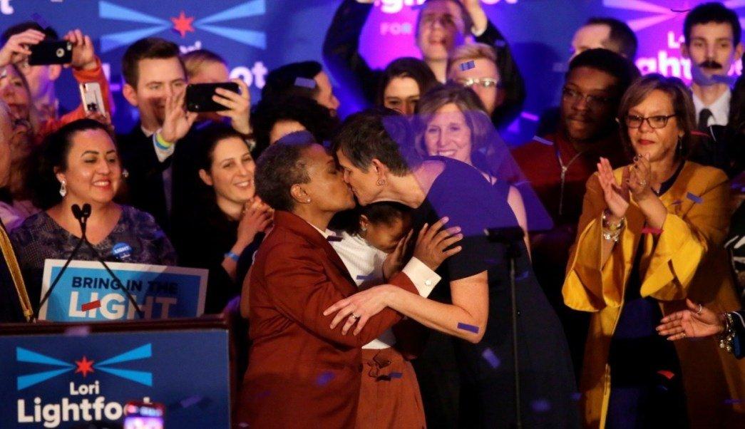 Chicago elige a su primera alcaldesa lesbiana y afroamericana