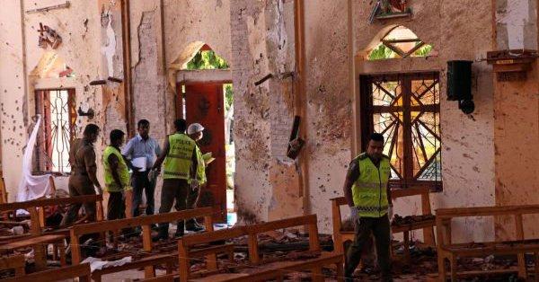 Sri Lanka sufre atentados