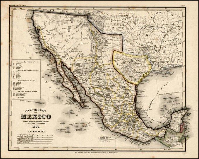 Perdida Del Territorio, Mexico Pierde Su Territorio
