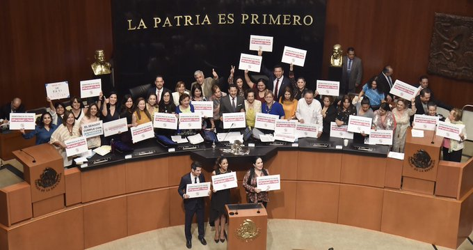 Senado aprueba reforma sobre Paridad de Género