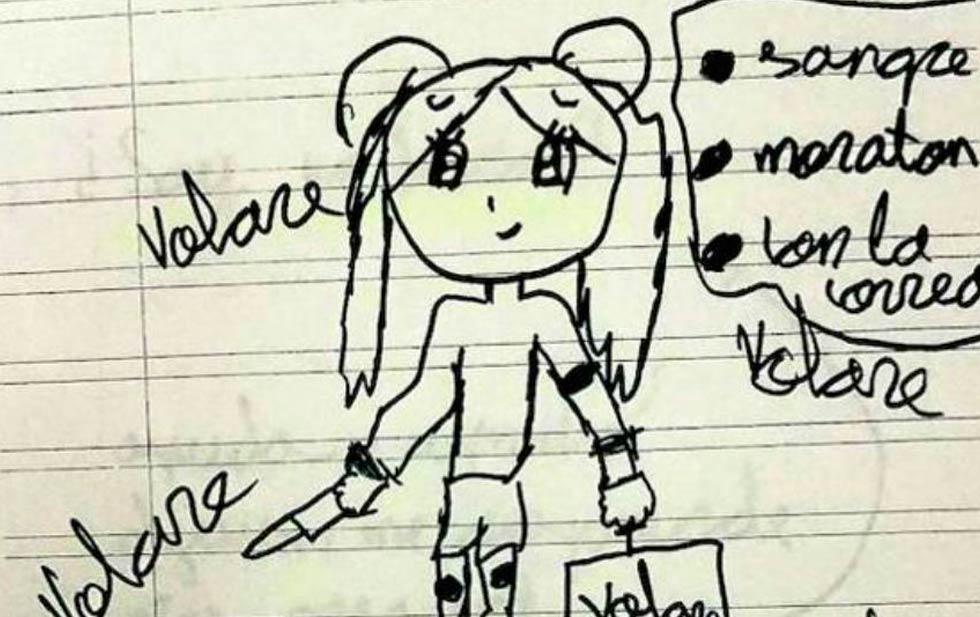 Por dibujos, rescatan a una niña de maltrato y violencia