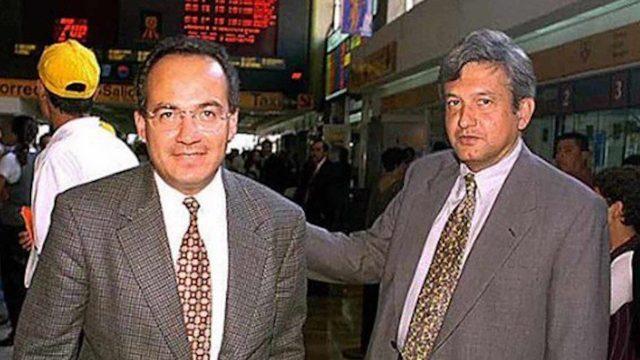 Cerca de trece años lleva conflicto entre AMLO y Calderón