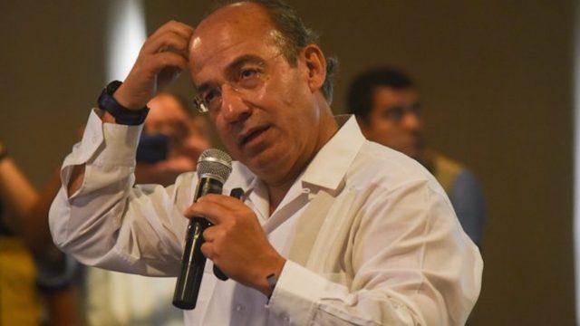 Calderón responde a acusación de fraude de AMLO