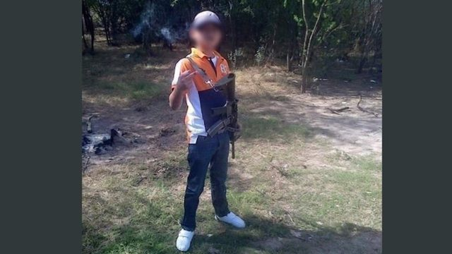 Juanito pistolas es el niño sicario murió decapitado en Nuevo Laredo