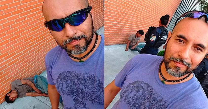 Ciclista de Puebla noquea sujeto que quiso robarle bicicleta