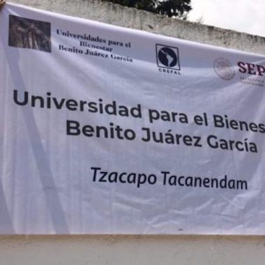 Universidad para el Bienestar Benito Juárez sin sede