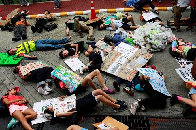 Hay una huelga global por el cambio climático