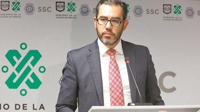 Jesús Orta dejó la Secretaría de Seguridad Ciudadana