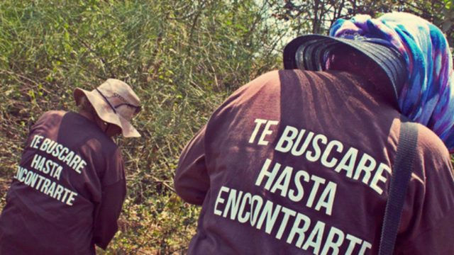 18/1/18 desaparición-forzada-México-realidad/Rastreadoras