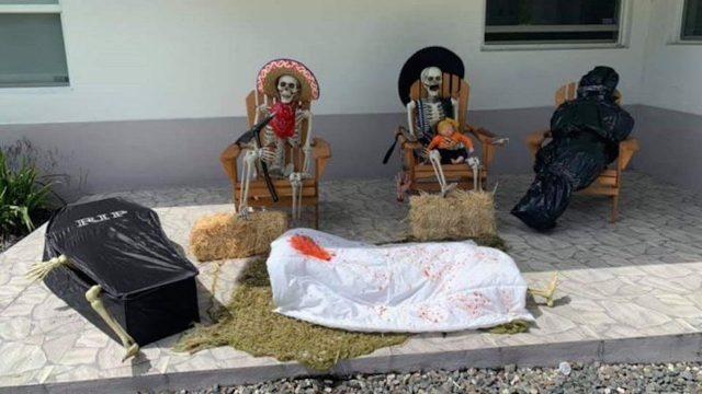 Una mexicana decoró su casa al estilo Sinaloa en Estados Unidos